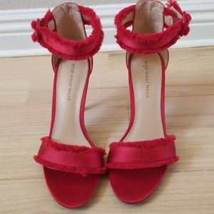 Who what wear red heels